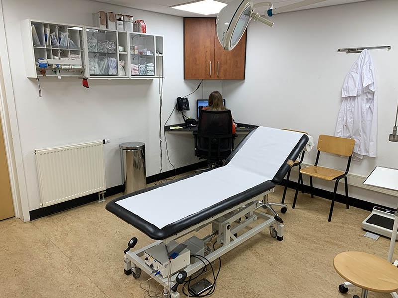 Tweede Exloermond behandelkamer